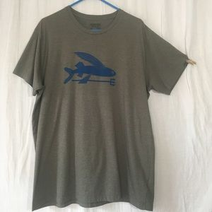 Patagonia Oversized Flying Fish Graphic Tee